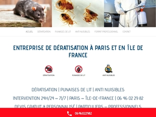 Deratisation Paris