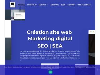 Création de site internets élégants et abordables