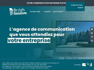 Breizh tandem, agence de communication à Pontivy