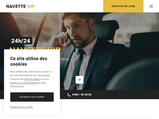 NAVETTE VIP, entreprise de transport dans le Brabant Wallon