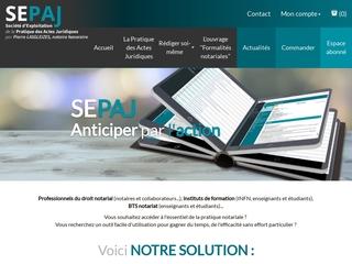 Les outils de Sepaj pour les notaires