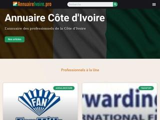 L'annuaire des professionnels de la Côte d'Ivoire