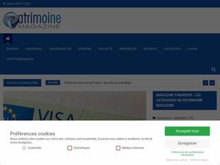 Patrimoine Magazine : des solutions pour gérer l'avenir