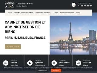 Cabinet en gestion et administration de biens à Paris