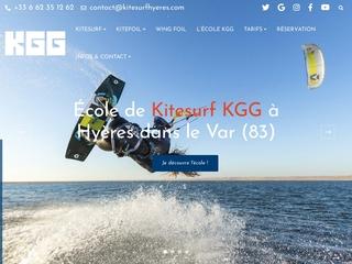 Cours de Kitesurf Almanarre Presqu'ile de Giens