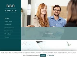 Cabinet BBR : avocats pour particuliers et sociétés
