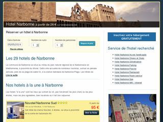 Hôtels à Narbonne