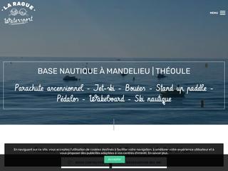 Vol parachute La Rague Watersport