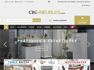 CBC-Meubles, spécialiste en vente en ligne de meubles