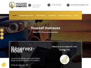 Chauffeur privé à Paris, Youssef Oumouss