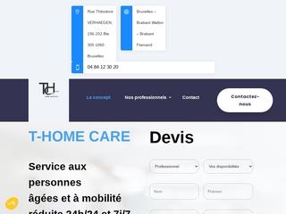 Aide à domicile à Bruxelles, T-Homecare