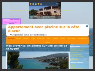 villa provençale avec piscine St Aygulf