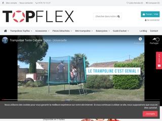 Trampoline de marque Topflex
