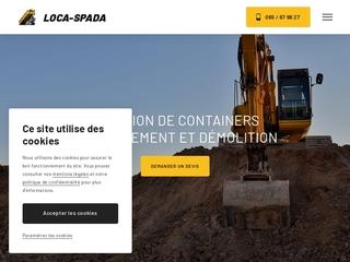 Louer des containers dans la région de Mons