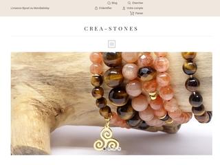 Créations artisanales de bijoux en pierres naturelles