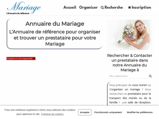 Annuaire Mariage