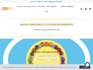 Les bijoux spirituels et statues bouddhistes de Kaosix