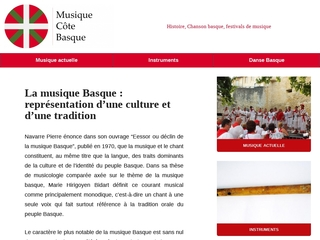 Tradition musicale basque