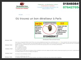 Paris deratisation | Diagnostic Traitement Prévention