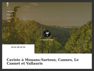 Caviste à Mouans-Sartoux, Cannes, Le Cannet et Vallauris