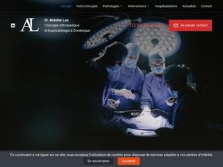 Chirurgien orthopédiste à Dunkerque