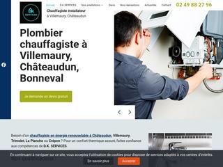 D.K. SERVICES: Entreprise des travaux énergétiques à Châteaudun
