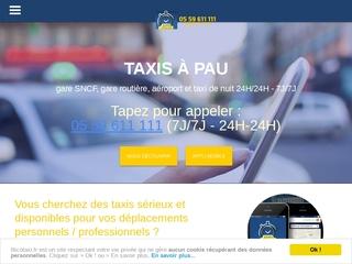 Illico Taxi 64 : se déplacer à Pau, nuit, gare, aéroport