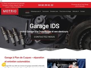 Garage mécanique auto situé à Marseille