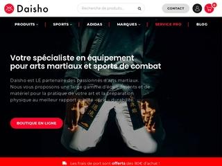 Boutique d'arts martiaux Daisho