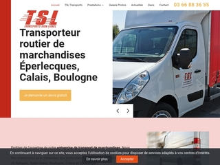 Transporteur Sion Lionel : transporteur de marchandises