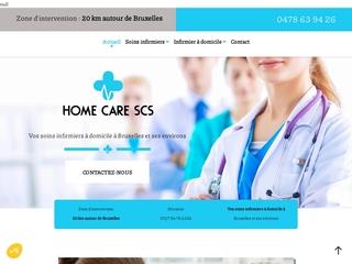 Soins infirmiers à domicile à Bruxelles