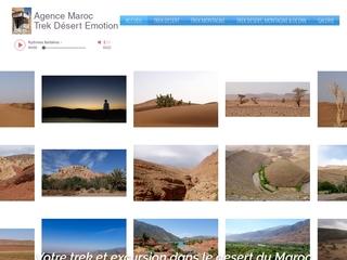 Partez en trek dans le désert Marocain avec notre guide