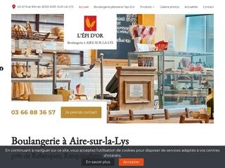 L'épi d'or : boulangerie à Aire-sur-la-Lys