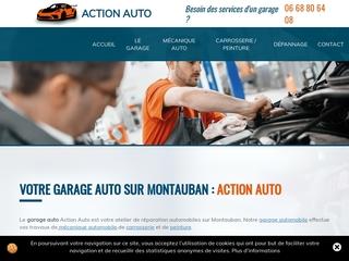 Mécanique automobile, carrosserie/peinture, garage auto sur Montauban