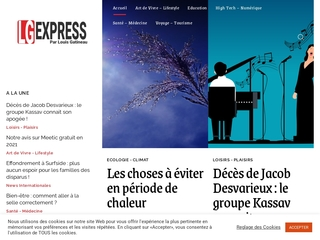 LG EXPRESS : Un magazine pas comme les autres