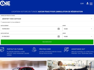 Location voiture en Tunisie prix pas cher