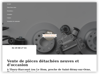 Vente de pièces détachées neuves et d'occasion à Thury-Harcourt