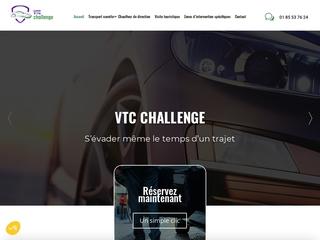 Chauffeur VTC à Paris, VTC Challenge