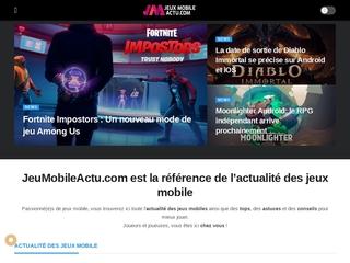 JeuxMobileActu - La référence de l'actualité des jeux mobile