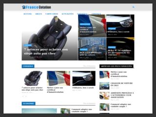 Site pour le calcul de cote automobile en France