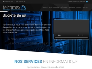 Telcomex: informatique, communication et sécurité en Suisse
