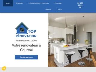 Travaux de rénovation à Courtrai - Top Rénovation
