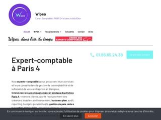Cabinet d'expertise comptable WIPEA à Paris 4