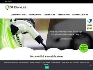 Installateur de borne électrique à votre service