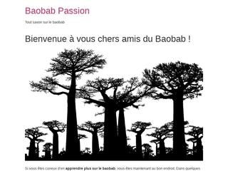 Tout savoir sur le baobab