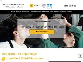Garage automobile à Saint-Maur-des-Fossés