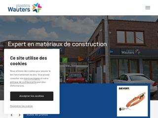 Magasin de vente de matériaux de construction en plastique