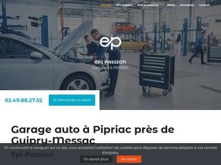 Travaux de carrosserie : devis auto en ligne au garage Epi-Passion