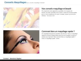 Conseils avisés en maquillage et en beauté