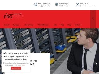 Profibre, placement de câbles et audit informatique